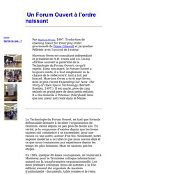 Forum Ouvert (Open Space)