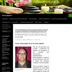 Forum du 21.03.2014 salle pleine