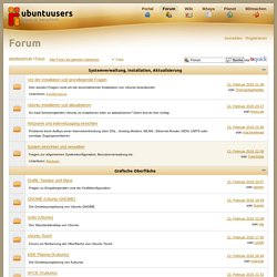 Forum › ubuntuusers.de