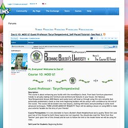 Debatfora - Fællesskabet - The Sims 3