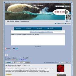 Voir le sujet - Cataclysme du Japon - 11 Mars 2011