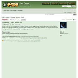Ogre Forums • View topic - Spacescape - Space Skybox Tool