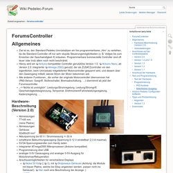 elektrotechnik:forumscontroller [Wiki Pedelec-Forum]