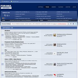 Forumul Softpedia