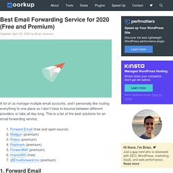 Best Email Forwarding Service for 2020 (Free and Premium)