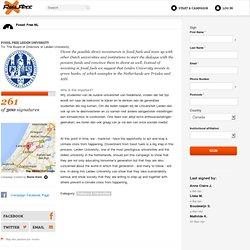 Fossil Free Leiden University
