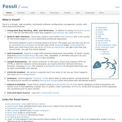 Fossil: Home