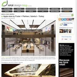 Apple store by Foster + Partners, Istanbul – Turkey