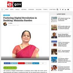 Fostering Digital Revolution in Banking: Manisha Raodeo