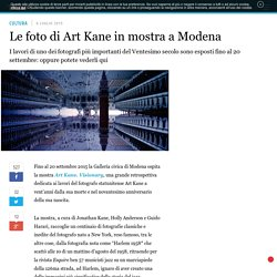 Le foto di Art Kane in mostra a Modena