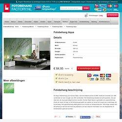 Fotobehang Aqua - FotobehangFactory.nl