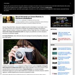 Mai più foto banali con Camera Restricta: la fotocamera disubbidiente