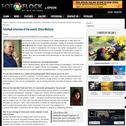 Conociendo a fondo a Steve McCurry. Entrevista detallada 2009.