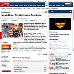 Fotografentipps: Ideale Bilder für Microstock-Agenturen - Fotografen-Tipps