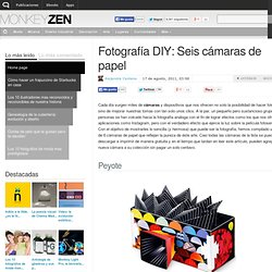 Fotografía DIY: Seis cámaras de papel