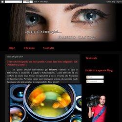 Corso di fotografia on line gratis. Come fare foto migliori: Gli Obiettivi (parte1)