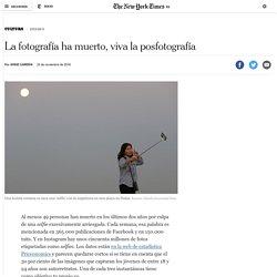 La fotografía ha muerto, viva la posfotografía – Español