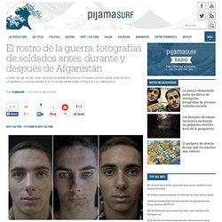 El rostro de la guerra: fotografías de soldados antes, durante y después de Afganistán