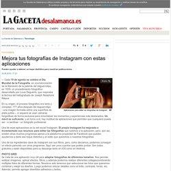 Mejora tus fotografías de Instagram con estas aplicaciones - Tecnología -Noticias de La Gaceta de Salamanca