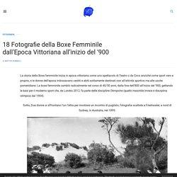 18 Fotografie della Boxe Femminile dall'Epoca Vittoriana all'inizio del '900 - Vanilla Magazine