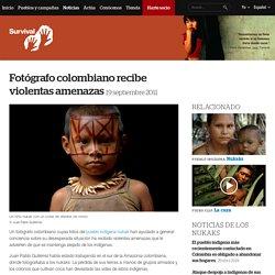 Fotógrafo colombiano recibe violentas amenazas
