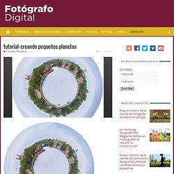 Fotografo digital y tutoriales Photoshop