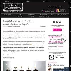 Los 6 (+1) mejores fotógrafos gastronómicos de España
