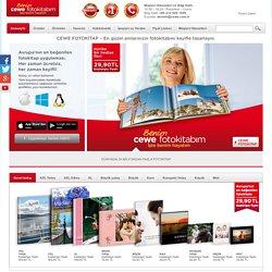 CEWE FOTOKİTAP - Avrupa'nın 1 numaralı fotokitap üreticisi.