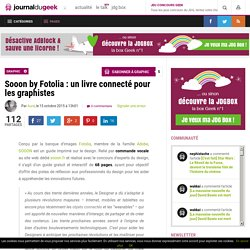 Sooon by Fotolia : un livre connecté pour les graphistes