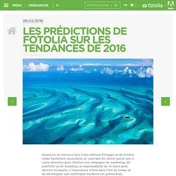 Fotolia FR » Les prédictions de Fotolia sur les tendances de 2016