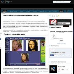FotoMorph : le logiciel de Morphing gratuit pour Windows