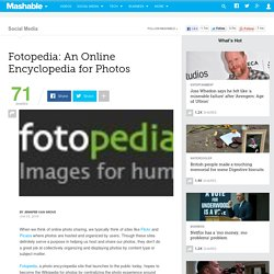 Fotopedia: An Online Encyclopedia for Photos
