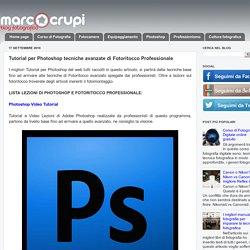 Tutorial per Photoshop tecniche avanzate di Fotoritocco Professionale