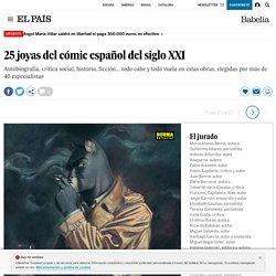 Fotorrelato: 25 joyas del cómic español del siglo XXI