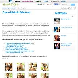 Fotos de Nicole Bahls Nua – Panicat Pelada na Playboy