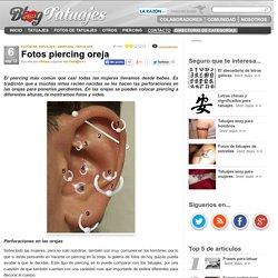 Fotos piercing oreja
