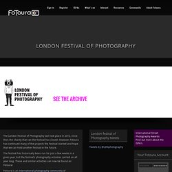 London Festival of Photography - INFO - London Festival of Photography