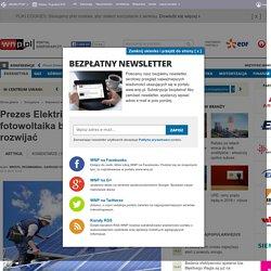 Prezes Elektrix: w Polsce fotowoltaika będzie się szybko rozwijać - Energetyka