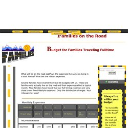 FOTR - Budget for traveling families