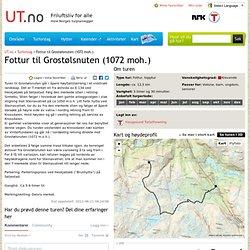 Fottur til Grostølsnuten (1072 moh.)