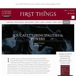 Foucault's Principalities & Powers by Angela Franks