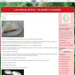 La fouée - Les menus de Zou : du jardin à l'assiette