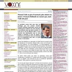 Manuel Valls en père Fouettard, plus sinistre tu meurs ! François Hollande ne rassure pas, mais Valls fait peur ››› Raoul Fougax