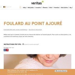 Foulard au point ajouré