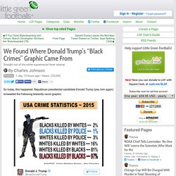 """We Found Where Donald Trump's """"Black Crimes"""" Graphic Came From"""