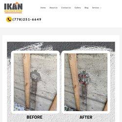 Foundation crack repair & basement wall Repair in Calgary