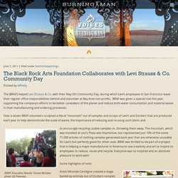 The Black Rock Arts Foundation Collaborates with Levi Strauss & Co. Community Day