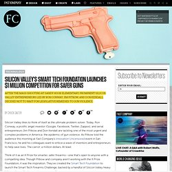 Silicon Valley's Smart Tech Foundation Launches $1 Million Competition For Safer Guns