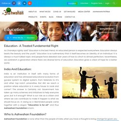 Education for Poor Child