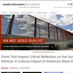 Media Education Foundation | Educational Videos for Teaching Media Literacy and Media Studies, featuring Sut Jhally, Jean Kilbourne, Jackson Katz & more